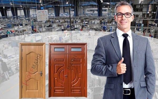 cửa thép vân gỗ là gì