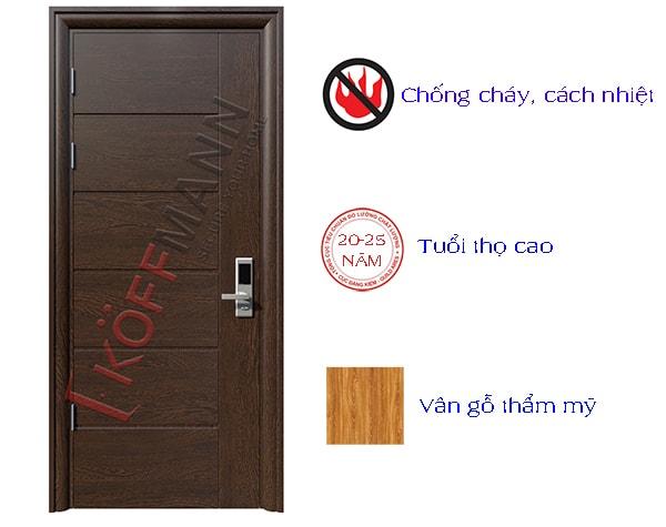 Những lý do nên sử dụng cửa thép vân gỗ