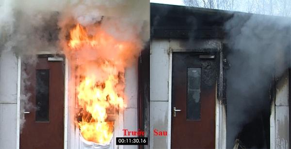 bí mật đằng sau những cánh cửa thép chống cháy