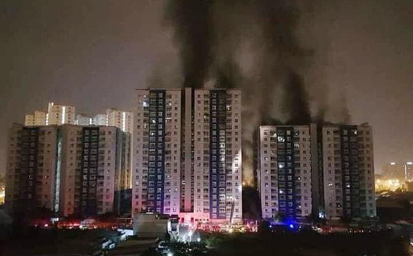 Cháy ở chung cư Carina quận 8: Tâm lý hoảng loạn