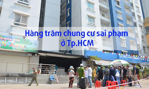 Hàng trăm chung cư tại TP.HCM không có hệ thống PCCC