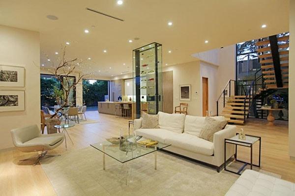 Kính trong trang trí, thiết kế nội thất nhà ở
