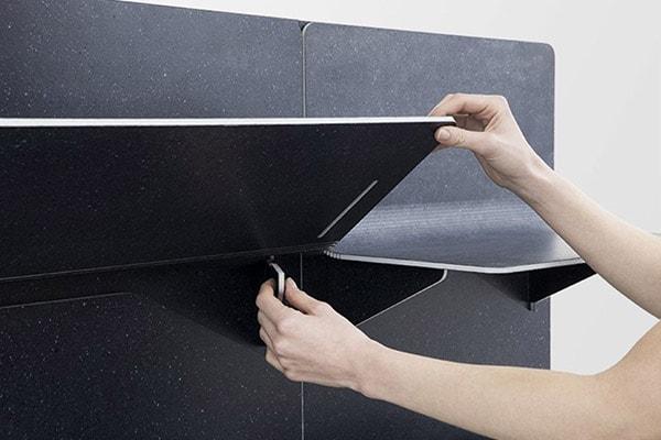 Tấm tường vải độc đáo cho ngôi nhà cách âm linh hoạt