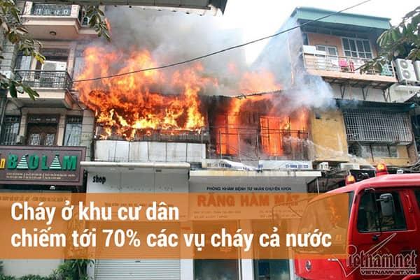 Cửa chống cháy hút hàng sau hàng loạt vụ cháy lớn đầu năm 2018