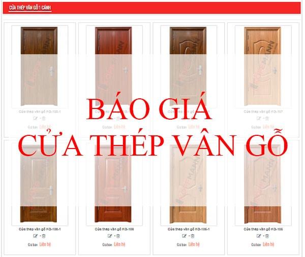 bao-gia-cua-thep-van-go-cua-go-cong-nghiep