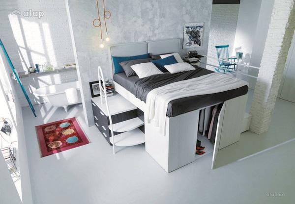 nâng giường cao