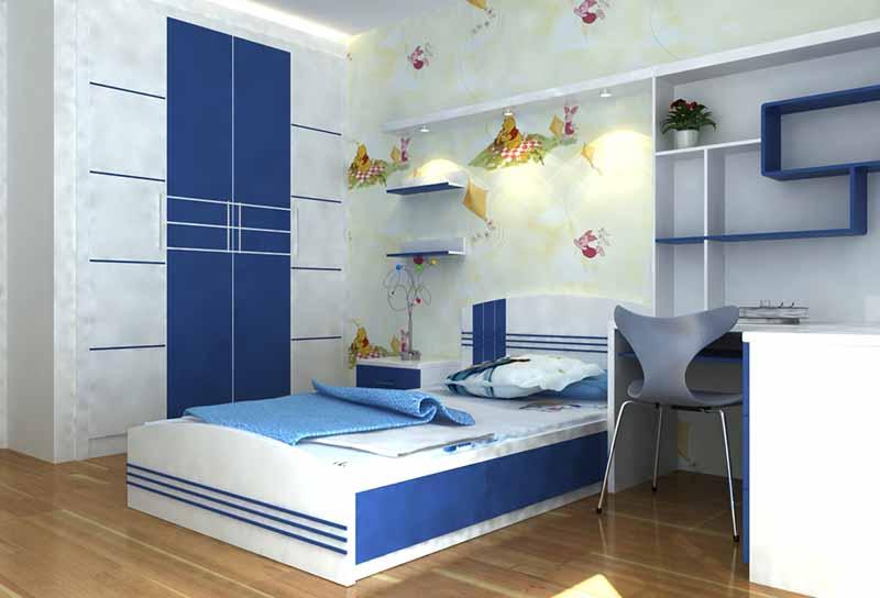 thiết kế phòng ngủ cho bé phù hợp