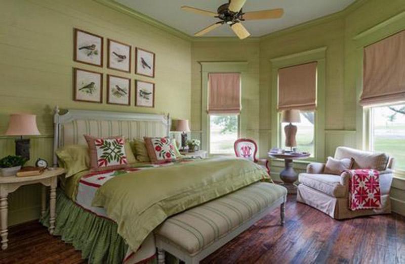 lựa chọn màu phù hợp trong phòng ngủ tuổi 1979