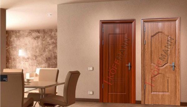 Mẫu cửa thép vân gỗ cũng là một trong những lựa chọn hoàn hảo