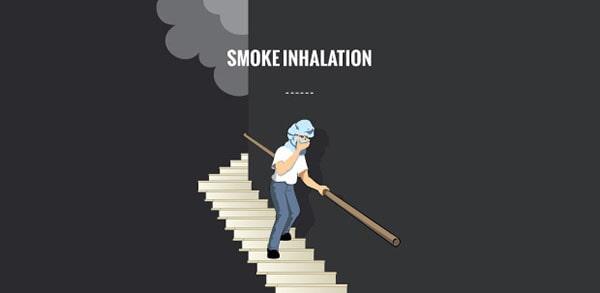 Ảnh hưởng của việc hít phải khói trong đám cháy
