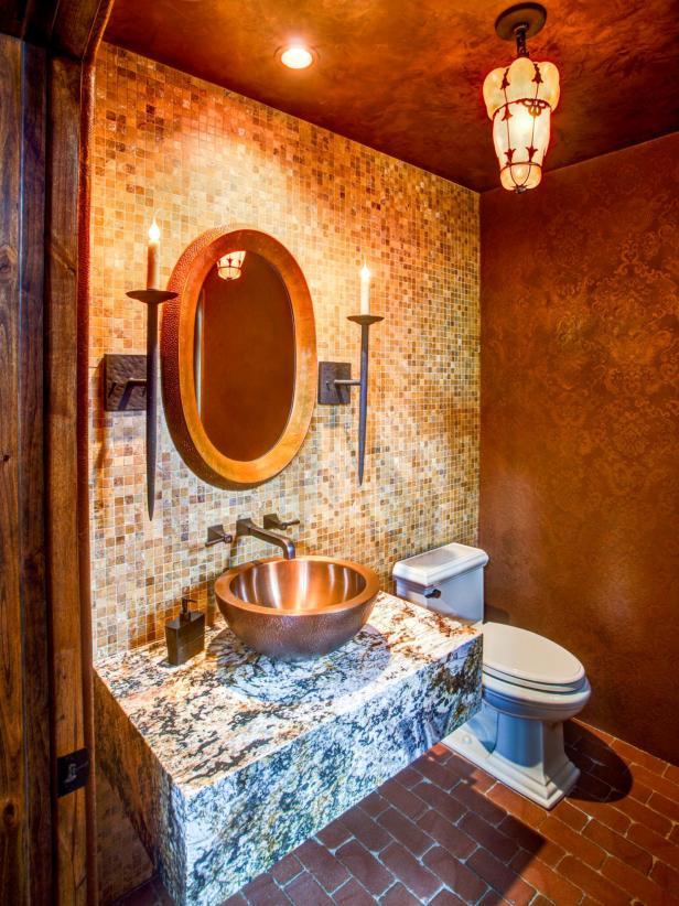 9 ý tưởng màu sắc cho nhà vệ sinh nhỏ